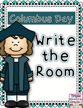 Columbus Day Write the Room