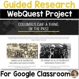 Columbus Day or Indigenous Peoples' Day: WebQuest Research Activity for Google