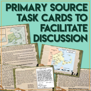 The English and the Wampanoag Task Cards Why did the Relationship Grow Worse?