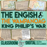 King Philip's War The English and the Wampanoag Distance Learning