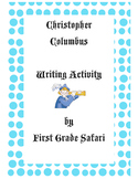 Columbus Day writing activity