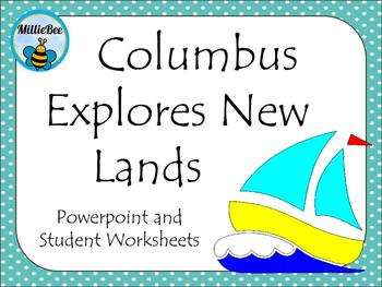Columbus Explores New Lands - Macmillan Reading Series