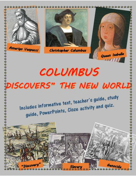 """Columbus """"Discovers"""" the New World - the good, the bad, and the very ugly"""