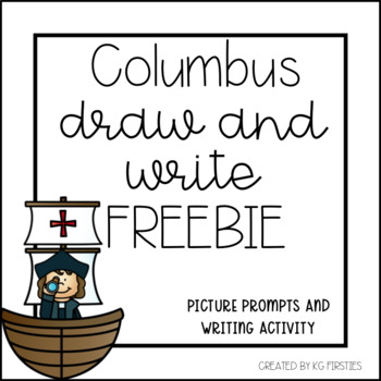 Columbus Day Draw and Write