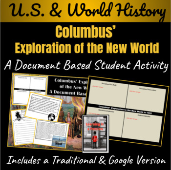 Columbus' Exploration of the New World: A Document Based Activity