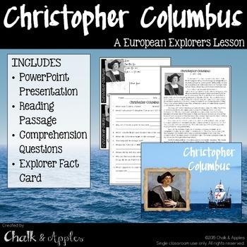 Columbus Explorer Lesson