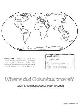 Christopher Columbus Explorer Research Flipbook