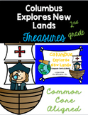 Columbus Explores New Land: Treasures 2nd Grade:Common Core Aligned Activities