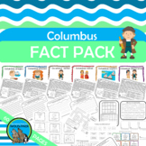 COLUMBUS FACT PACK Posters Reading Text Puzzles Writing Vocab Rebus Puzzles