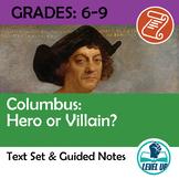 Columbus: Hero or Villain? 3 Text Analysis