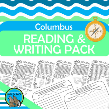 COLUMBUS Reading Passages Informational Text Comprehension