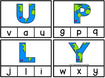 Columbus Loved Exploring Letters:  LOW PREP Letter Matching Clip Cards