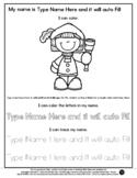 Columbus - Name Tracing & Coloring Editable Sheet - #60Cen