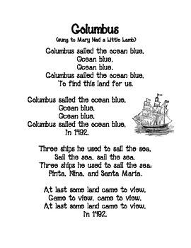 Columbus Poem