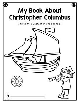 Columbus Writing, Punctuation, and Capitalization; Where do the sentences end?