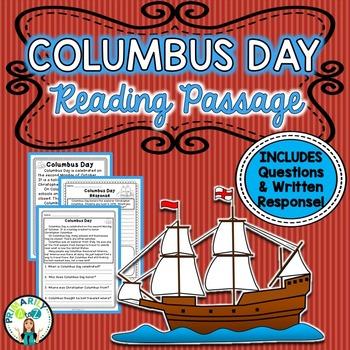 Columbus Reading Passage