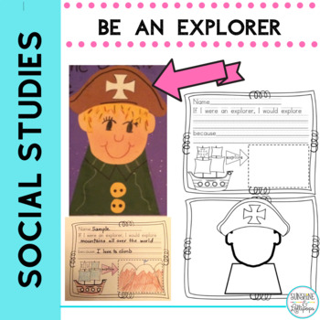 Christopher Columbus Be an Explorer Craft and Writing