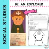 Christopher Columbus Craft and Writing Be an Explorer