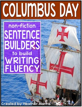 Columbus Day Sentence Builders