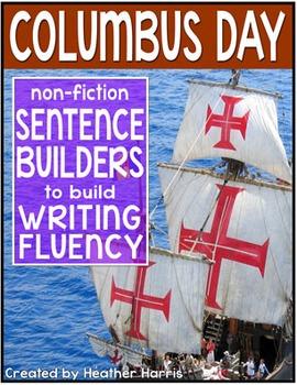 Columbus Day Sentence Builders