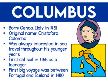 Columbus Stats and Facts Slide Show