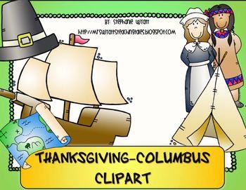Columbus-Thanksgiving Clipart