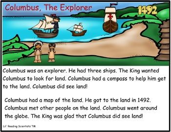 Columbus, The Explorer - An Orton Gillingham Lesson