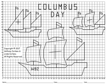 Columbus' Three Ships Mystery Picture
