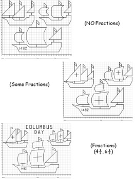 Columbus' Three Ships Mystery Picture Bundle