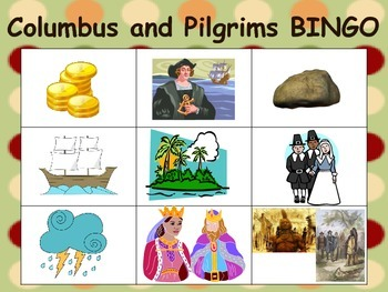 Columbus and Pilgrims NYS Module 9 Kindergarten