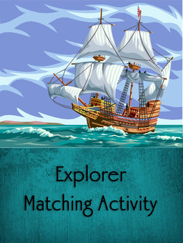 Columbus and other Explorer's Matching Game