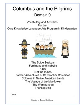 Columbus and the Pilgrims--Engage NY--Common Core--Kindergarten---Domain 9