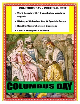 Columbus and the Spanish Crown- Reading- ENGLISH- Great SUB plan