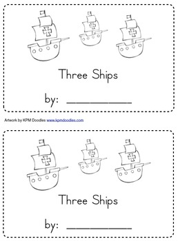 Columbus's Ships with STEM, Emergent Reading, & Writing ac