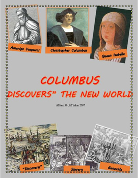 Columbus - the Good, the Bad, and the Very Ugly - suppleme