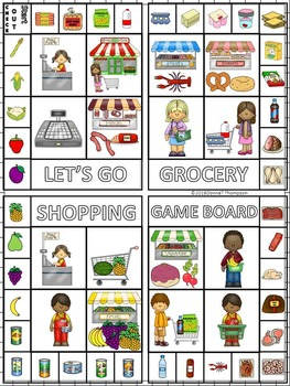 "Grocery Shopping ""Column Addition Game"" (Money Activities)"