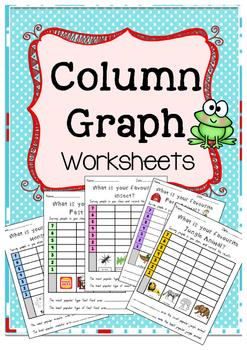 Column Graph- Data (WORKSHEETS)
