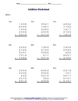 Column Math
