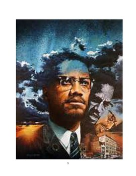 Composition Curriculum on the Autobiography of Malcolm  X - Chapter 9 and 10