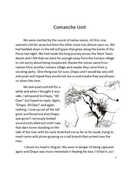 Texas Indians ELA Unit Comanche