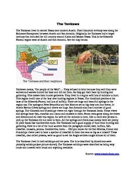 Comanche - Karankawa - Tonkawa Picture Analysis
