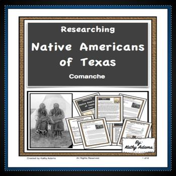 Texas Indians Comanche Research