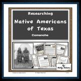 Texas Indians Comanche Research