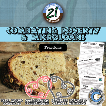 Combating Poverty & Microloans -- Fraction -- Int'l - 21st Century Math Project