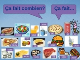 Combien coûte (Cost in French) PowerPoint Activity