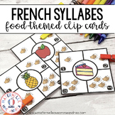 Combien de syllabes? Nourriture (FRENCH Food Syllable Counting Literacy Centre)