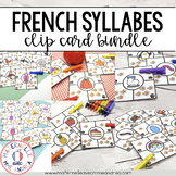 Combien de syllabes? The BUNDLE (FRENCH Syllable Counting Literacy Centre)