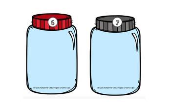 Combien d'insectes dans le bocal?