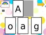Combina la letra Mayuscula y Minuscula