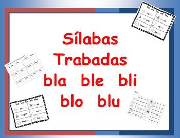 Combinacion de Consonantes bla ble bli blo blu